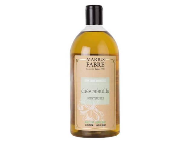 Sapone liquido di Marsiglia per il corpo - Caprifoglio - 1 l - Marius Fabre