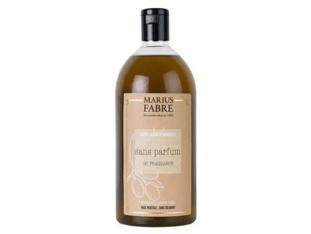Sapone liquido di Marsiglia per il corpo - senza profumo - 1 l - Marius Fabre