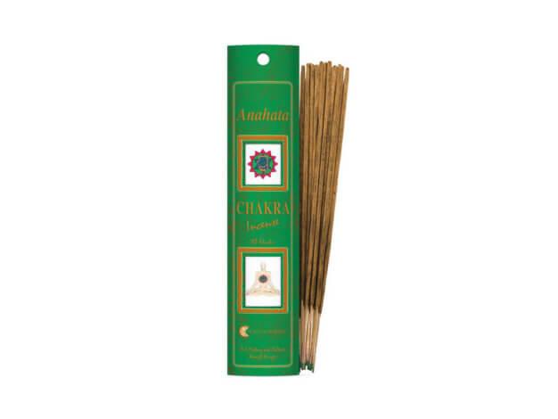 Incenso - Linea Chakra - 4 Verde Anahata - Fiore d'Oriente