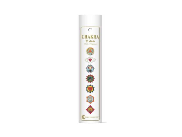 Incenso - Linea Chakra - Box 3 stik per 7 fragranze - Fiore d'Oriente