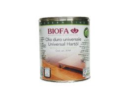 Olio duro universale naturale - codice 2044 - 2,5 l - BIOFA