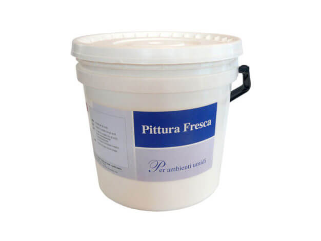 Pittura fresca antimuffa - 12 l - Spring Color