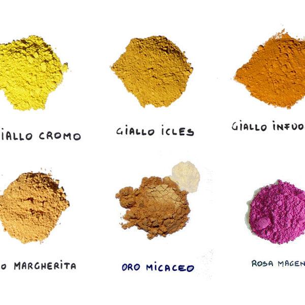 Terre e pigmenti coloranti - EcoBioEmporio - Toccasana ...