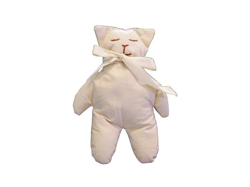 Cuscino Di Miglio Per Neonati.Cuscino Orsetto Con Pula Di Miglio 21x15 Cm