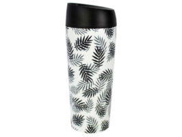 Bicchiere termico Well Mug - Leaves - 450 ml - WoodWay