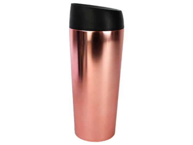 Bicchiere termico Well Mug - Rose Gold Chrome - 450 ml - WoodWay
