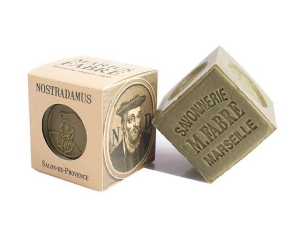 Sapone di Marsiglia all'olio d'oliva - Nostradamus - 200 g - Marius Fabre