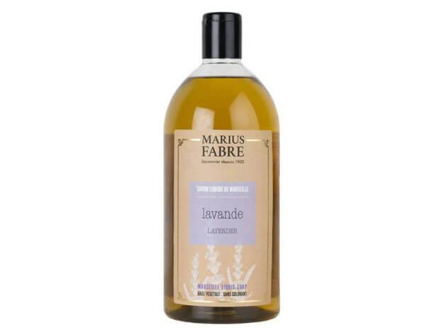 Sapone liquido di Marsiglia per il corpo - Lavanda - 1 l - Marius Fabre