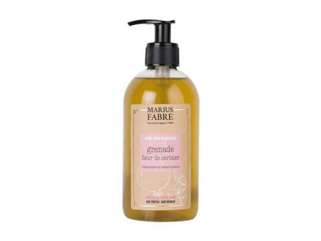 Sapone liquido di Marsiglia per il corpo - Melograno e fiori di ciliegio - 400 ml - Marius Fabre