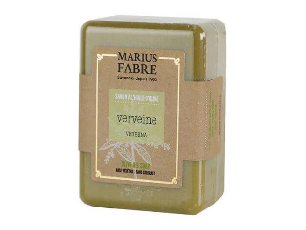 Sapone all'olio d'oliva - verbena - 150 g - Marius Fabre