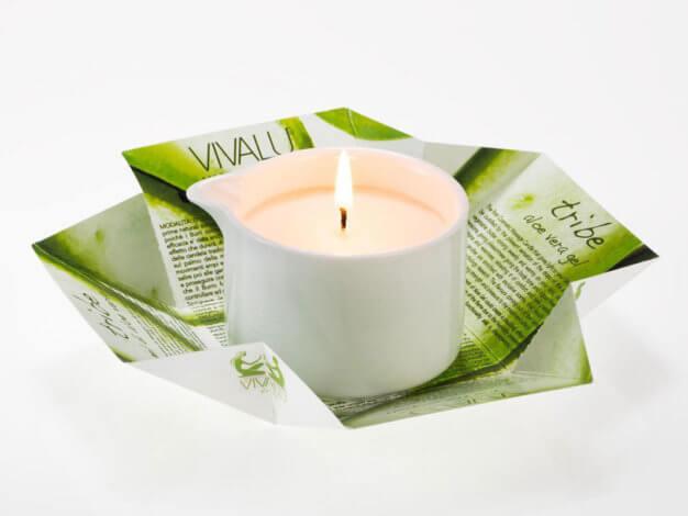 Candela da massaggio Tribe Vivalu Aloe Vera Gel - 100 ml - Lumen
