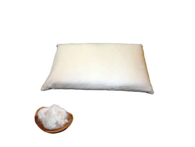 Guanciale di cotone bio - 60x40 h6 cm