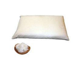 Guanciale di cotone bio - 80x50 h12-14 cm