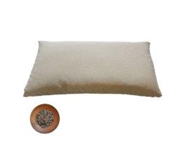 Guanciale in pula di grano saraceno bio - 60x40 h6 cm