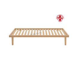 Rete a doghe in legno singola - Sana NA - 90x200 cm - Dorsal