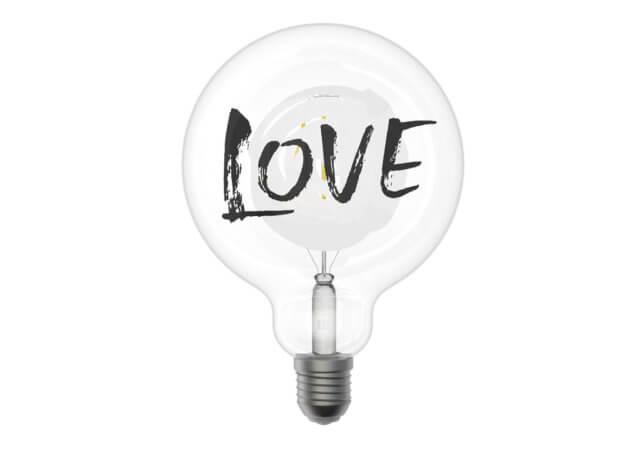 Lampada per sognatori Love - Filotto