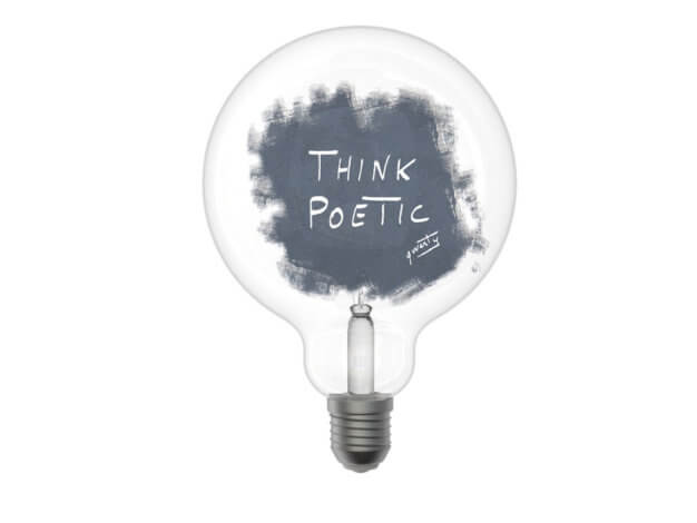 Lampada per sognatori Think - Filotto