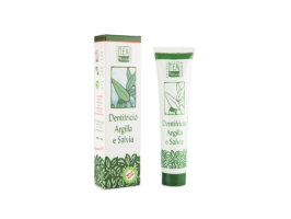 Dentifrico Argilla e Salvia - 75 ml - Tea Natura