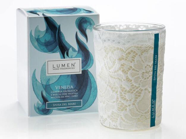 Candela aromatica Venezia Sposa del Mare - 400 ml - Lumen