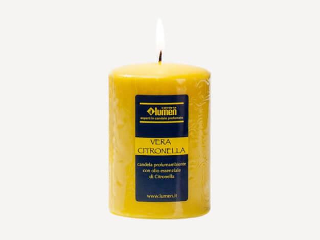 Candela vera citronella - Lumen
