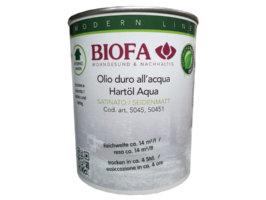Olio duro all'acqua - codice 5045 - 1 l - BIOFA