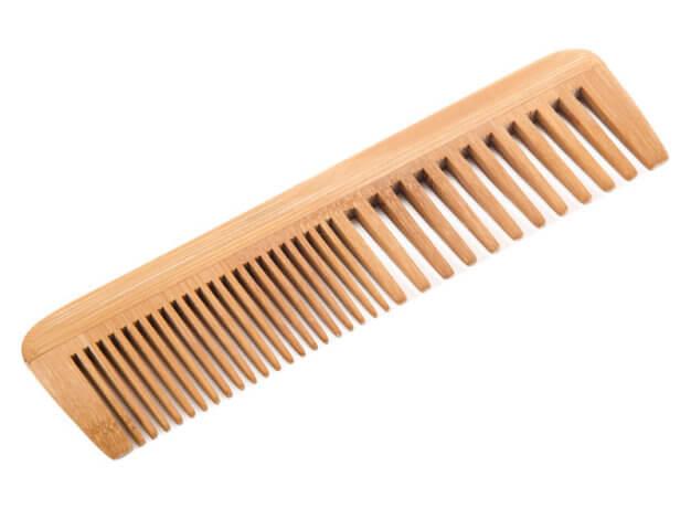 Pettine in legno senza manico - Carone