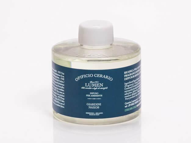 Refill per diffusore - Opificio Cerario - Giardini Naxos - 250 ml - Lumen