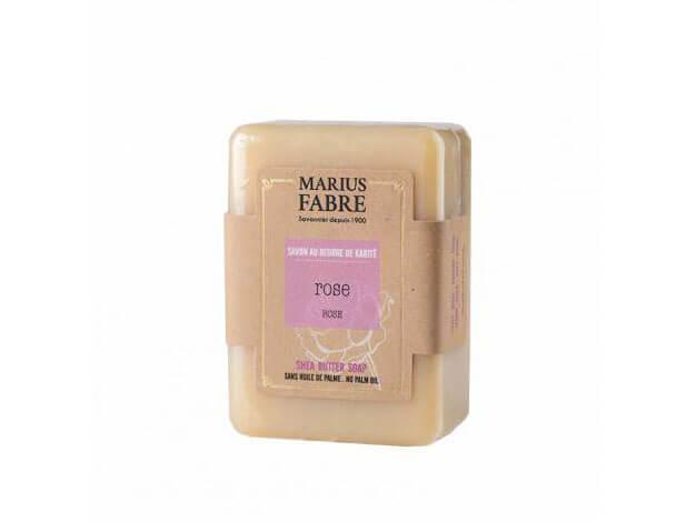 Sapone all'olio d'oliva - Rosa - 150 g - Marius Fabre
