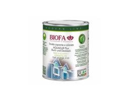 Smalto coprente satinato per esterni naturale - Aquadur Plus - codice 5122 - 1 l - BIOFA