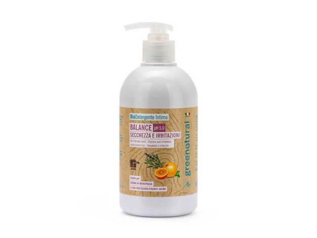 Bio Detergente Intimo Balance pH 5.0 - 500 ml - greenatural