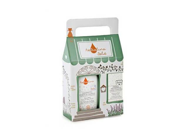 Casetta Bagnetto Corpo & Capelli + Crema - 500 ml + 100 ml - NeBiolina