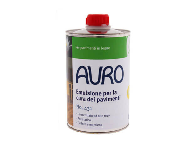 Emulsione per la Cura dei Pavimenti - N. 431 - 1 l - Auro