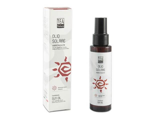 Olio Solare Abbronzante - Non unto - Senza Protezione - 100 ml - Tea Natura
