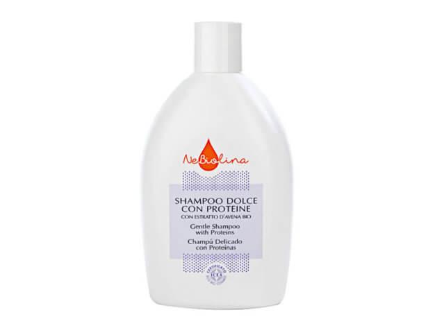 Shampoo Dolce con Proteine - 500 ml - NeBiolina