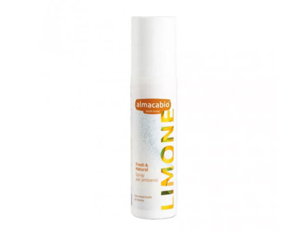 Spray per ambienti - Fresh & Natural Limone - 125 ml - almacabio