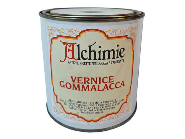 Vernice gommalacca - 0,75 l - Alchimie