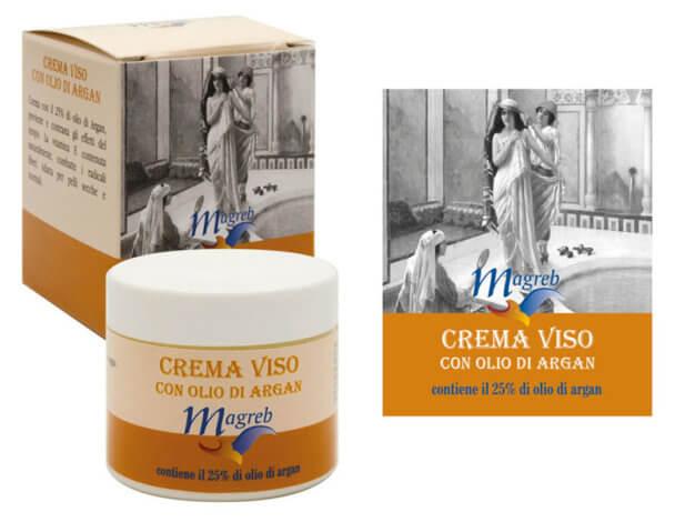 Crema viso con olio di ARGAN 25% - MAGREB - 50 ml - Carone
