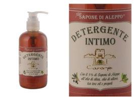 Detergente intimo SAPONE DI ALEPPO - 250 ml - Carone