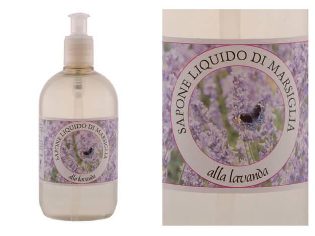 detergente liquido sapone di marsiglia con olio essenziale di lavanda - 500 ml - carone