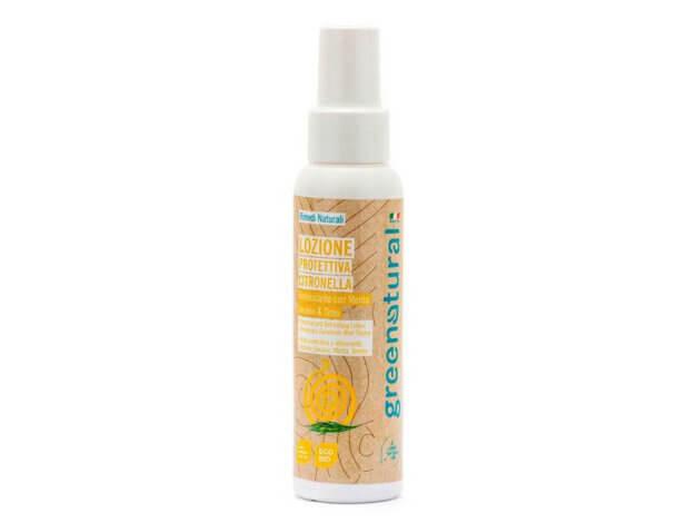 Lozione spray protettiva - Citronella - 100 ml - greenatural