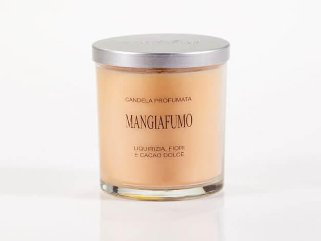 Candela vegetale Mangiafumo - coperchio alluminio - 150 ml - Lumen