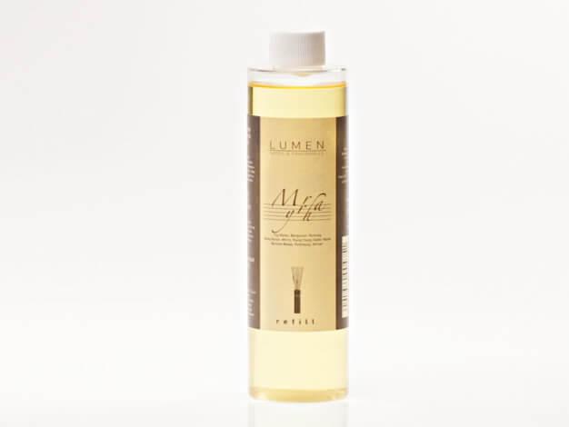Ricarica per diffusore profuma ambiente con bastoncini - The7Notes Myrrha - 250 ml - Lumen