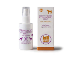Dentifricio Collutorio spray per animali - 50 ml - Argital