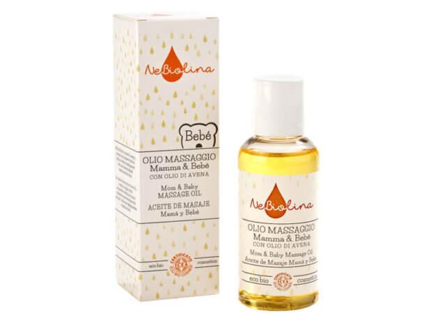 Olio massaggio Mamma & Bebé - 100 ml - NeBiolina