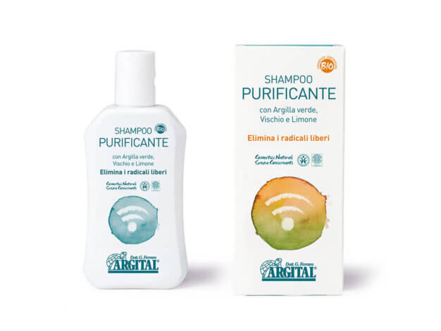 Shampoo purificante - 250 ml - Argital
