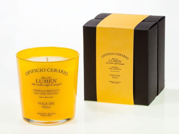 Candela Viale dei Tigli - Opificio Cerario - 300 ml - Lumen