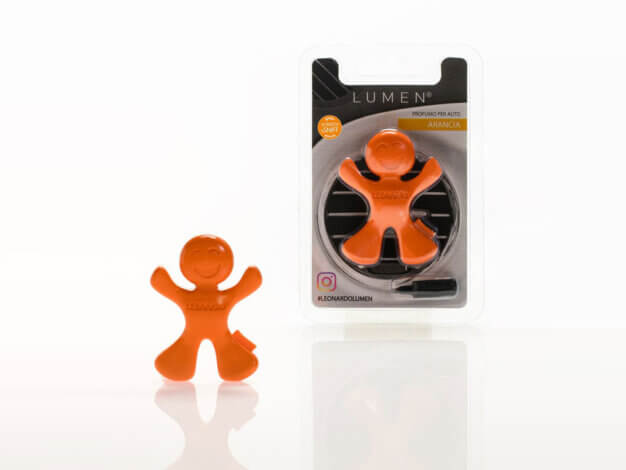 Profumatore per auto Leonardo car fragrance - Arancia e Frutta - Orange - Lumen