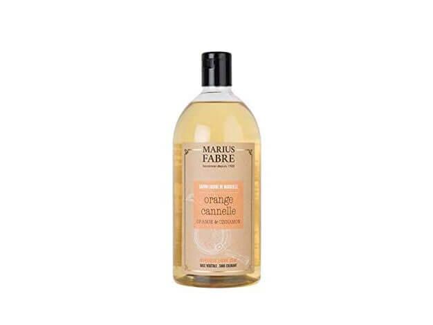 Sapone liquido di Marsiglia per il corpo - Scorza d'Arancia e Cannella - 1 l - Marius Fabre