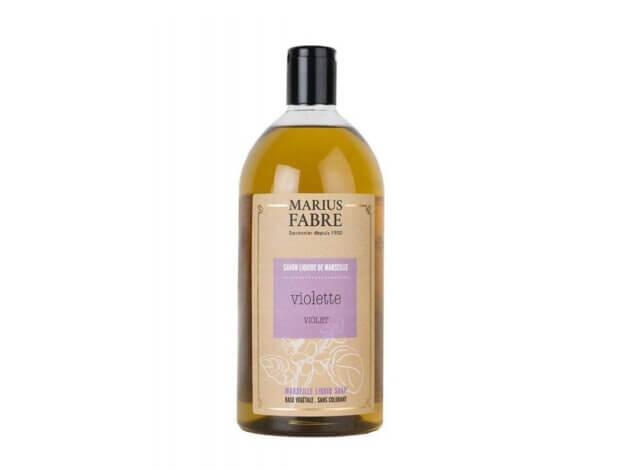 Sapone liquido di Marsiglia per il corpo - Violetta - 1 l - Marius Fabre