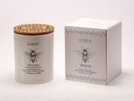 Candela con Cera Api Natura Amica Tiglio - 200 ml - Lumen